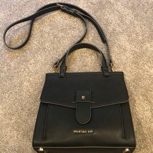 Rare Black all leather Spartina 449.